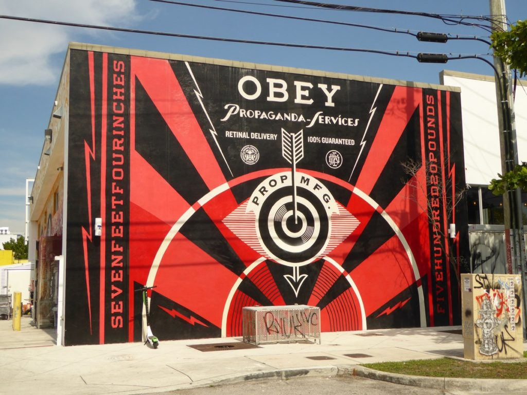 OBEY - Miami - NW 1st av & NW 25th st