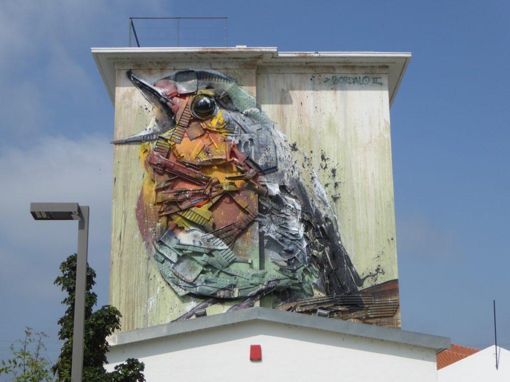 BORDALO II - Agueda - rua 5 de Outubro (après rua Maria Aguier da Cruz)