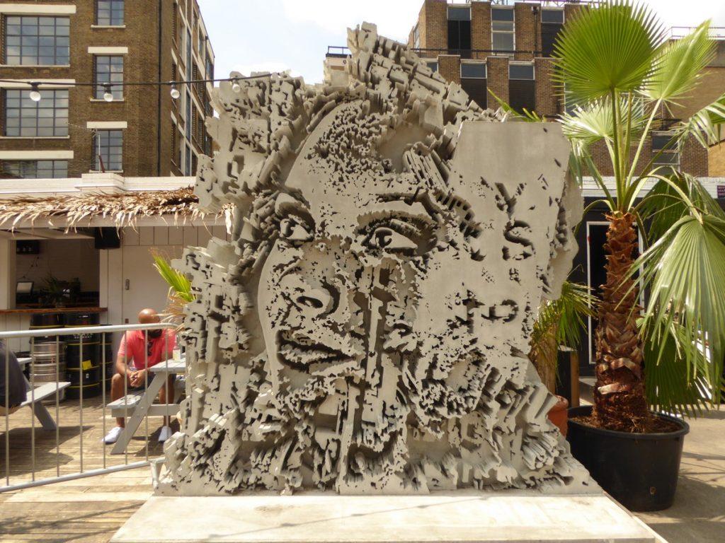 VHILS - Londres - Dray walk