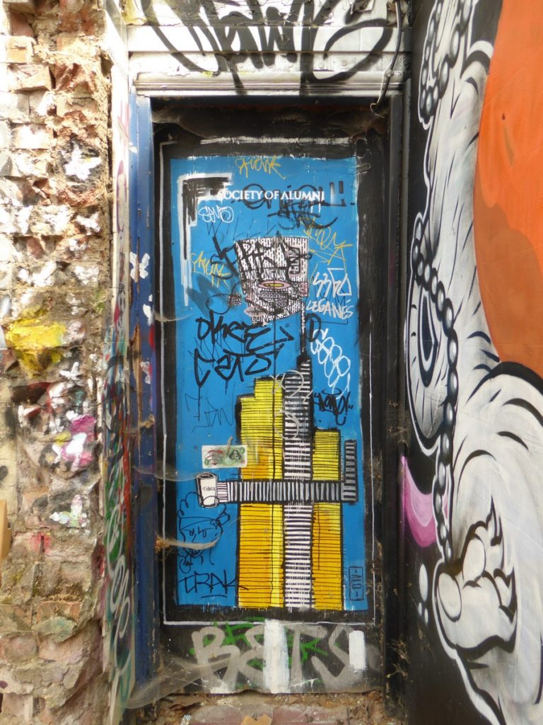 ALO - Londres - derrière Brick ln