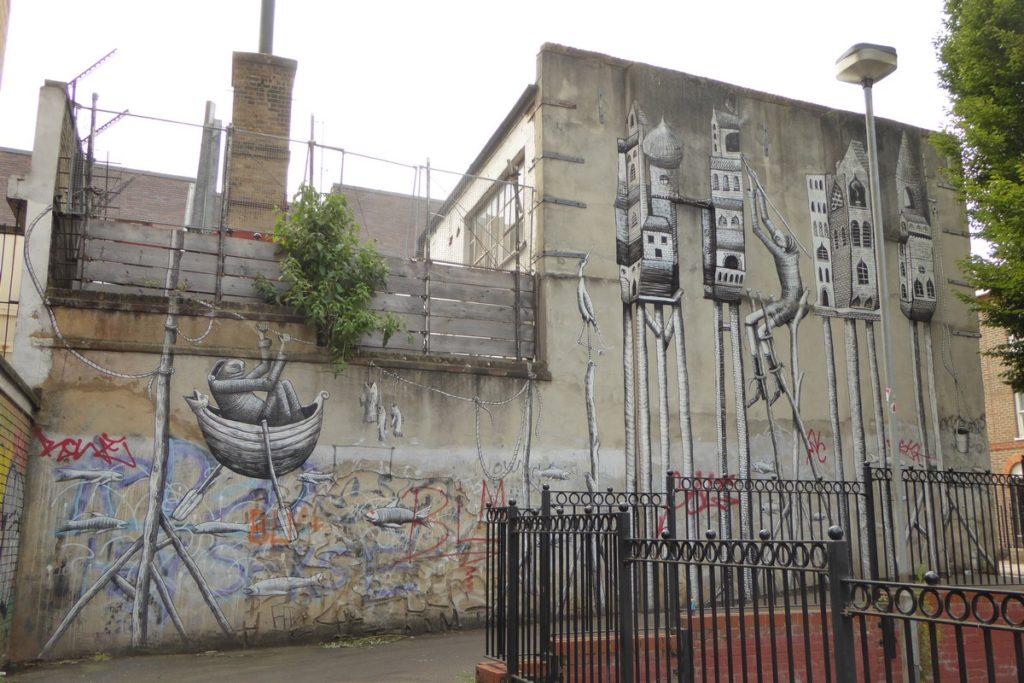 PHLEGM - Londres - face 25 Heneage St