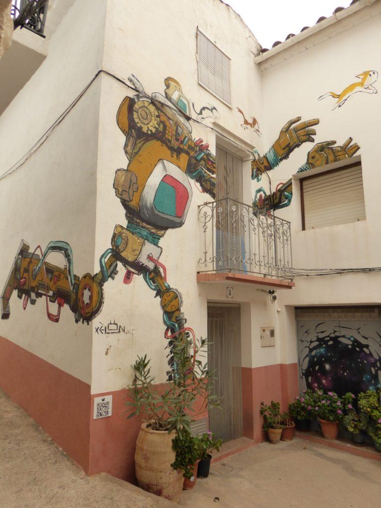 XELON XLF - Fanzara - Calle San Antonio & calle Algibe