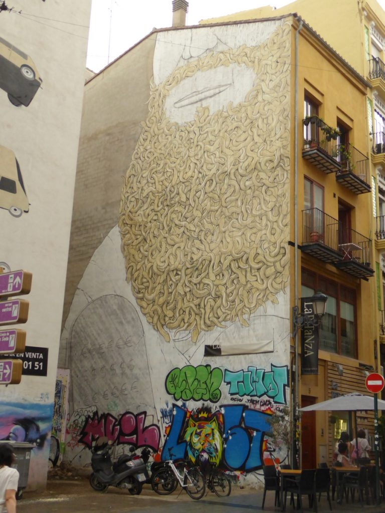 BLU - Valencia - Carrer de Quart & Plaça Fossal