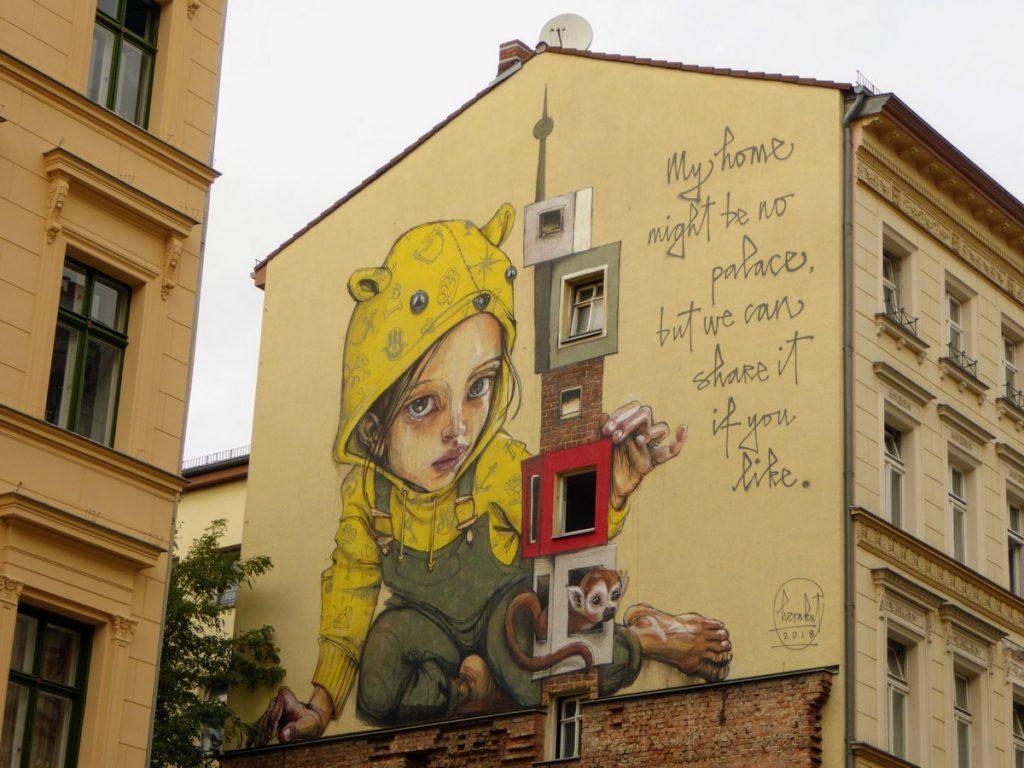 HERAKUT - Berlin - Luckauer Str. 14
