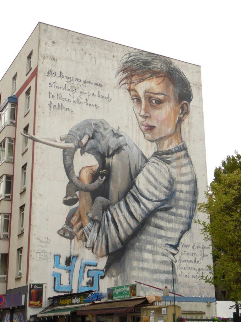 HERAKUT + WES 21 & ONUR - Berlin - Stromstraße 36