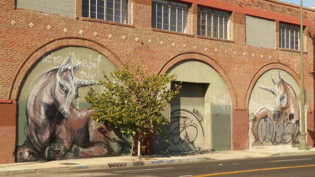 HERAKUT - Los Angeles - N Spring St & Wilhardt st