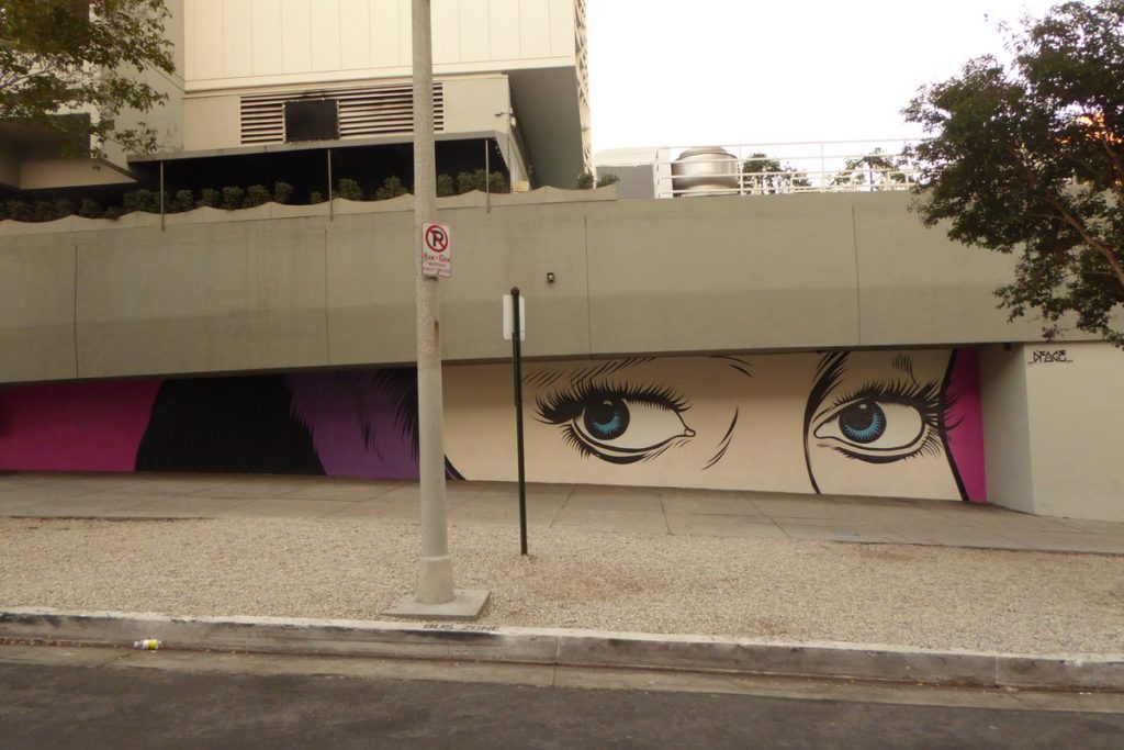 D*FACE - Los Angeles - S Ardmore Ave & Wilshire bld