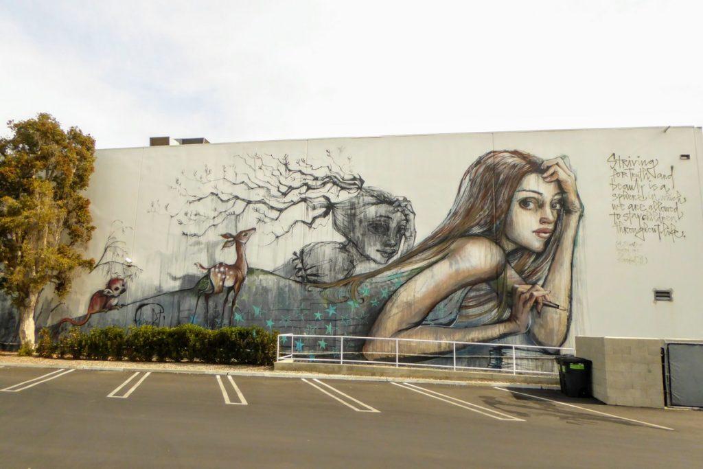 HERAKUT - Los Angeles - 12959 Coral Tree pl