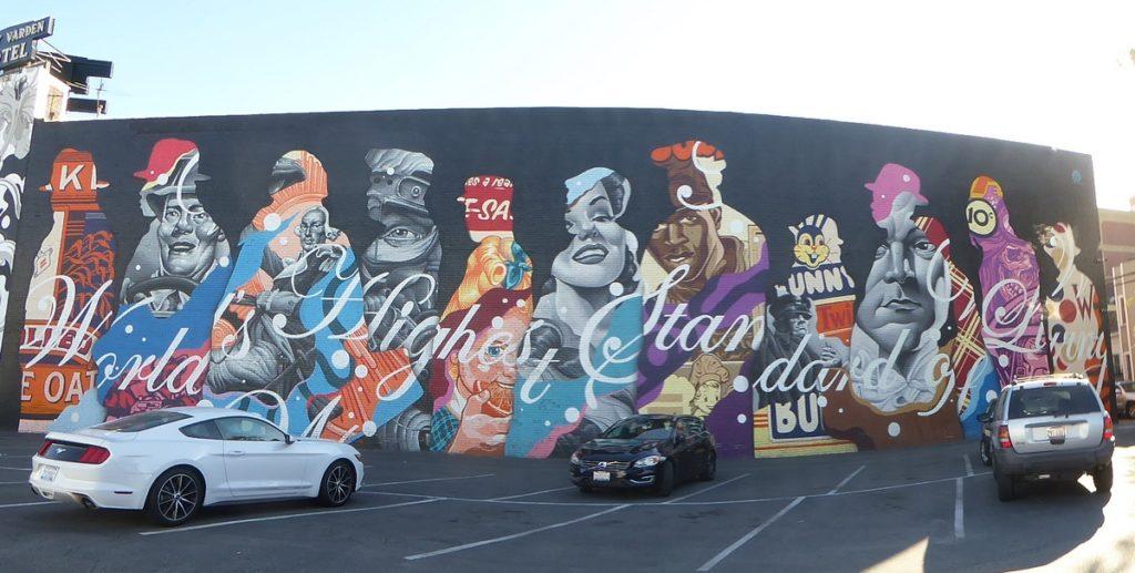 TRISTAN EATON - Long Beach - W 4th st & Pacific av