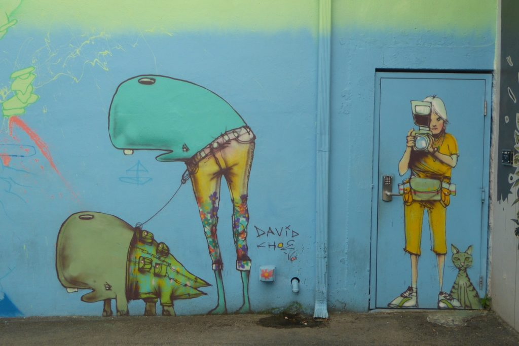 DAVID CHOE - Miami - Wynwood Walls – NW 26 st / NW 25 st / NW 2 av