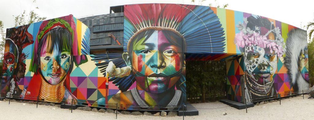 EDUARDO KOBRA - Miami - Wynwood Walls – NW 26 st / NW 25 st / NW 2 av