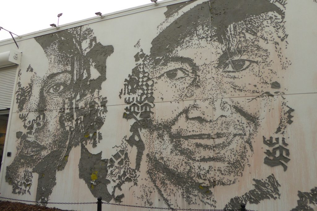 VHILS - Miami - Wynwood Walls – NW 26 st / NW 25 st / NW 2 av