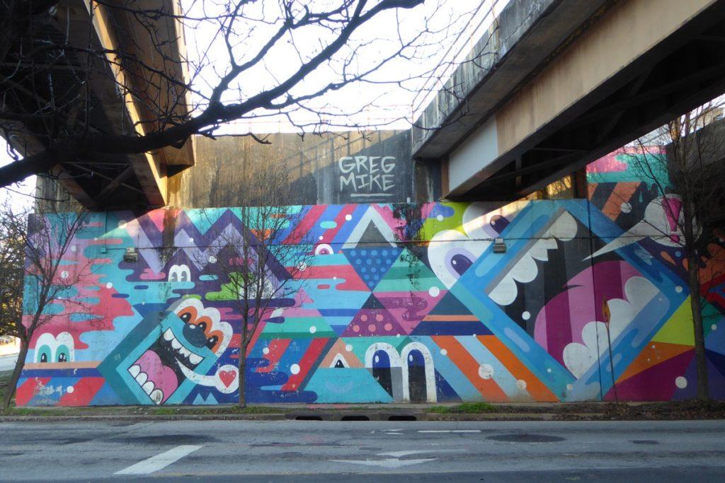 GREG MIKE - Atlanta - Whitefoord av NE & Delkalb av NE