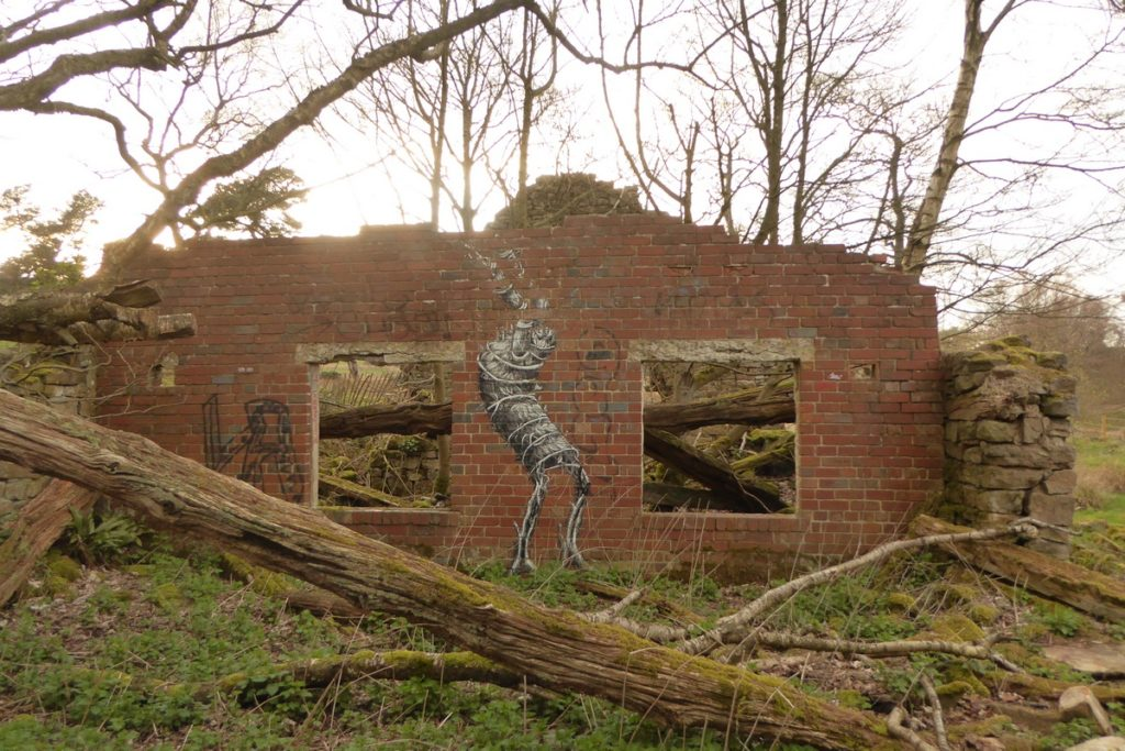 PHLEGM - Sheffield - Ringinglow rd & Sheephill rd (le long du Limb Brook)