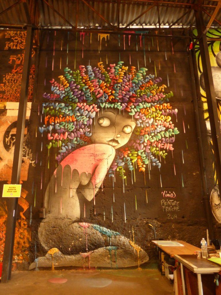 VINIE - Lyon - Festival Peinture fraîche - Halle Debourg