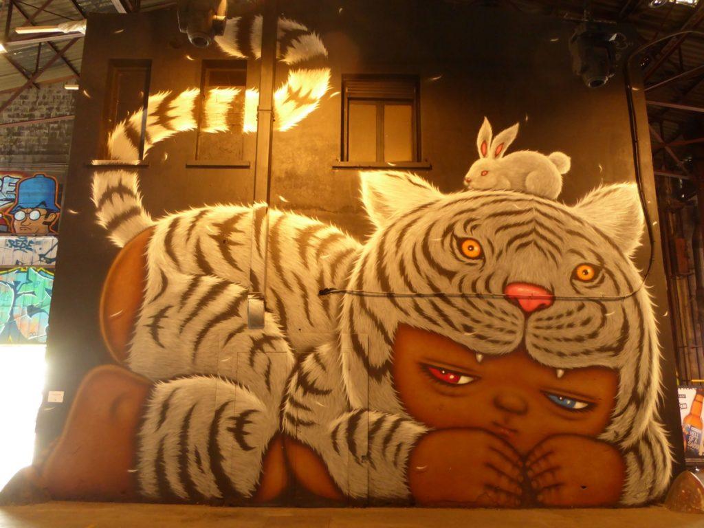 ALEX FACE - Lyon - Festival Peinture fraîche - Halle Debourg