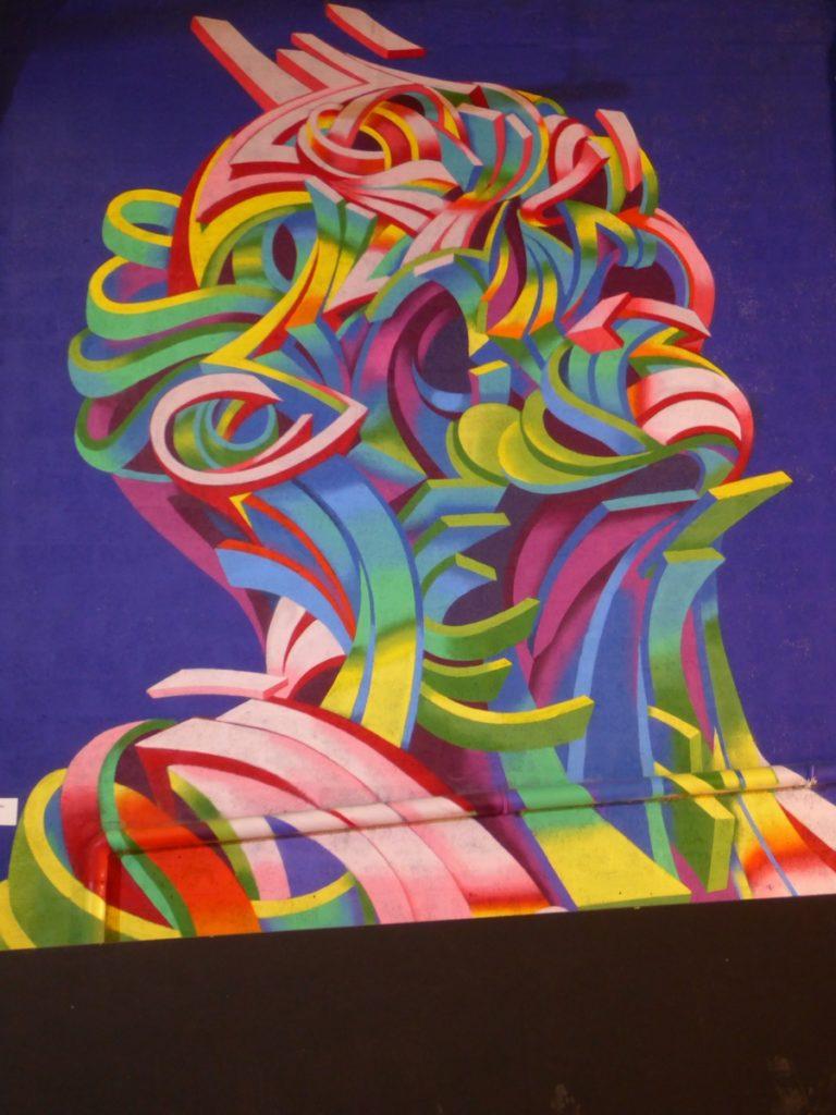 SHAKA - Lyon - Festival Peinture fraîche - Halle Debourg