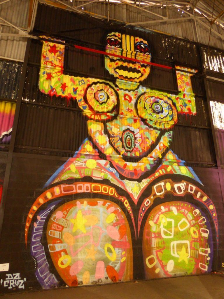 DA CRUZ - Lyon - Festival Peinture fraîche - Halle Debourg