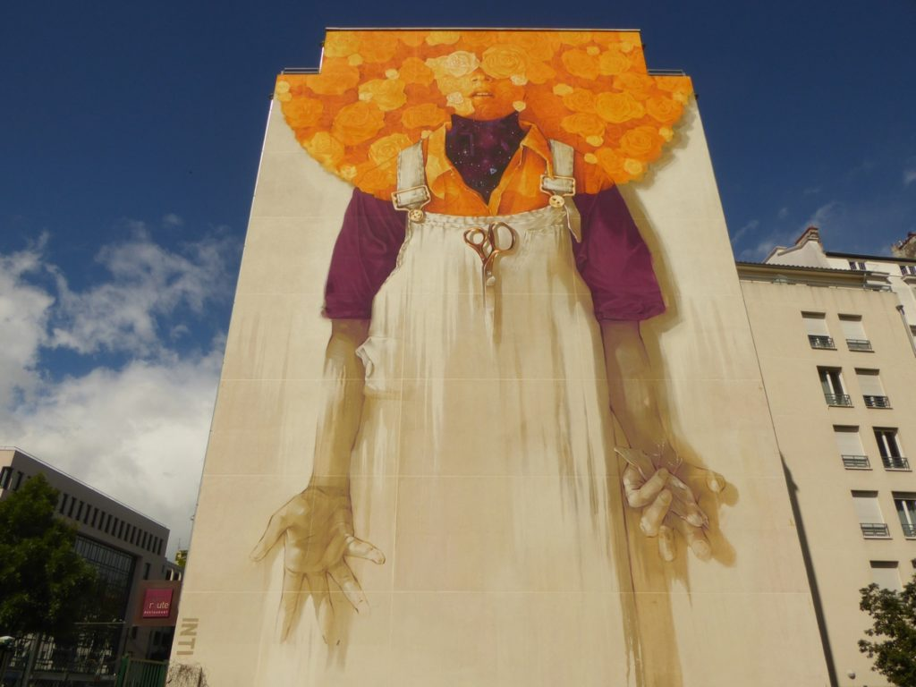 INTI - Lyon - Festival Peinture fraîche - Halle Debourg