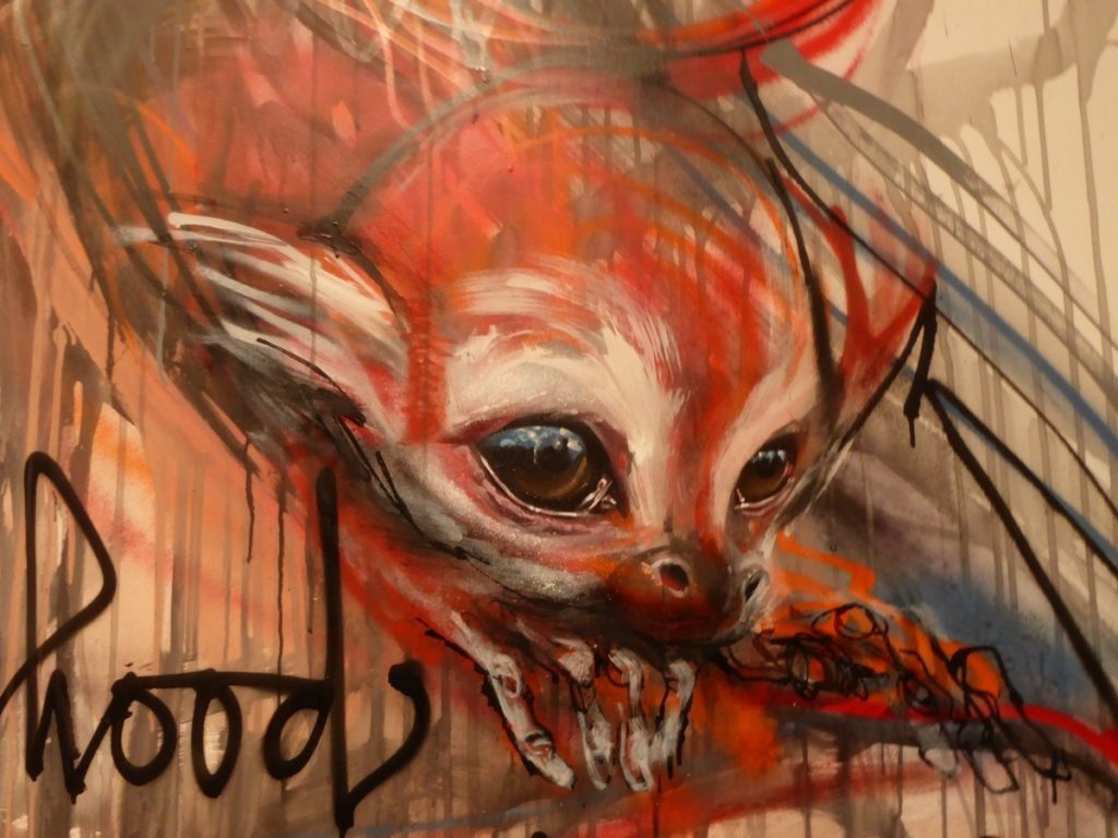 HERAKUT - Berlin - Biennale Urban Nation 2019 -Bülowstraße 7