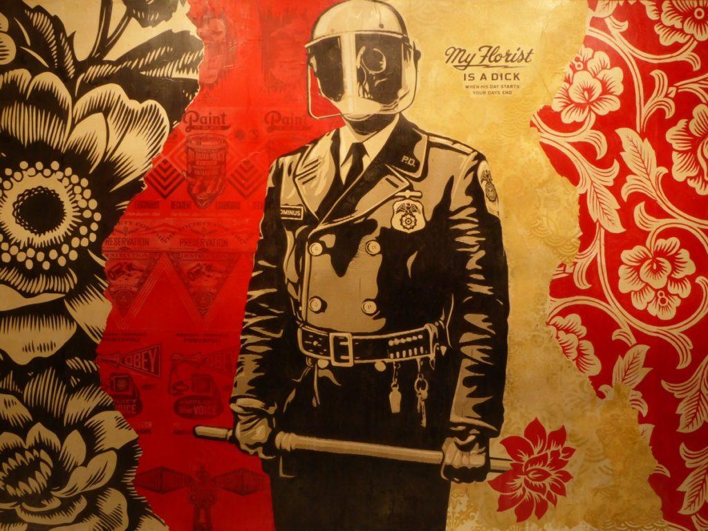 OBEY (SHEPARD FAIREY) - Berlin - Biennale Urban Nation 2019 -Bülowstraße 7