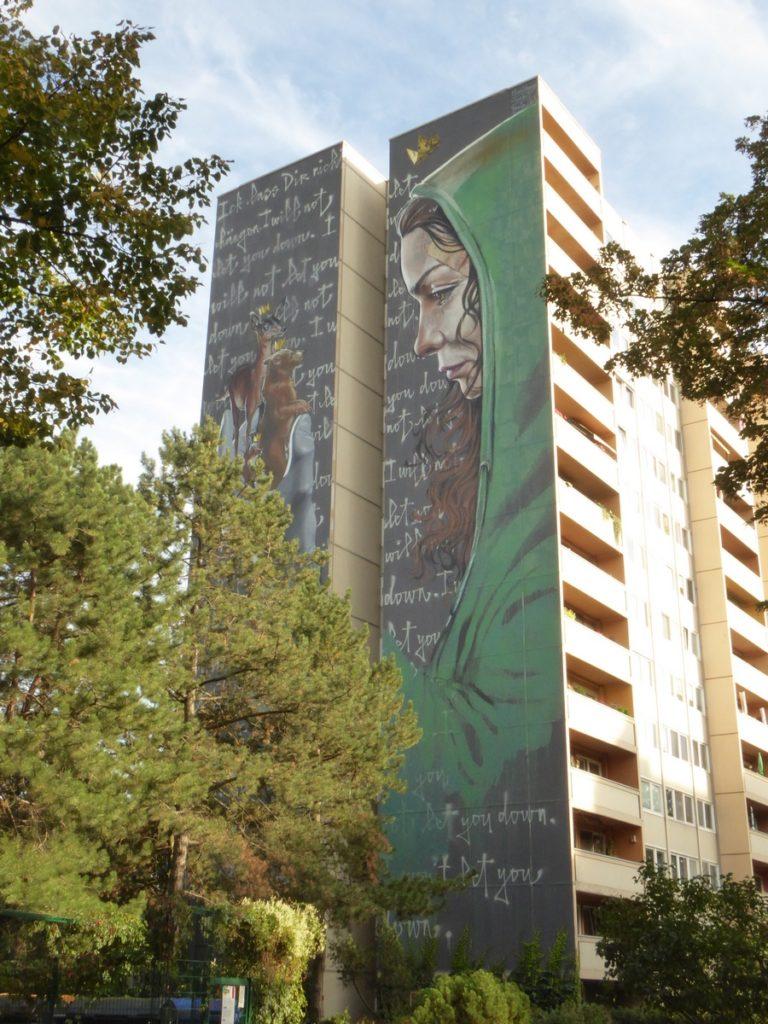 HERAKUT + NUNO VIEGAS - Berlin - Neheimerstraße 18