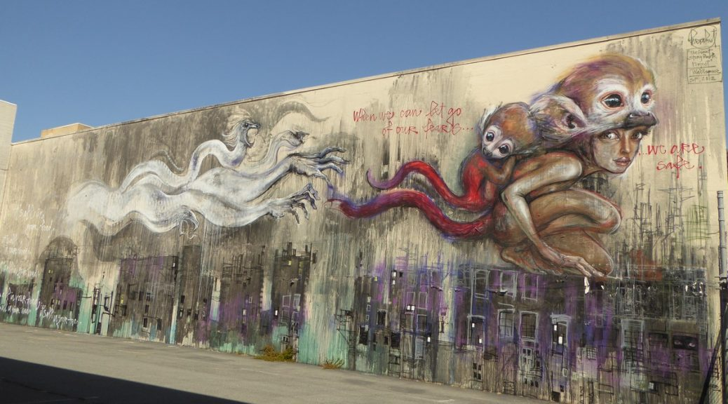 HERAKUT - San Francisco - McCoppin st & Stevenson st
