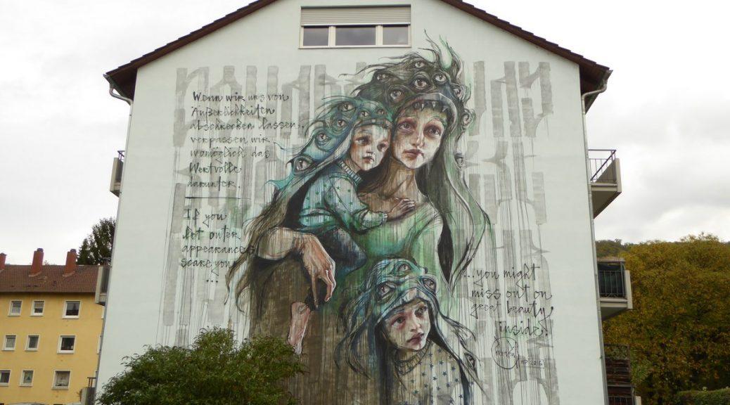 HERAKUT - Heidelberg - Philipp Otto Runge Straße 1